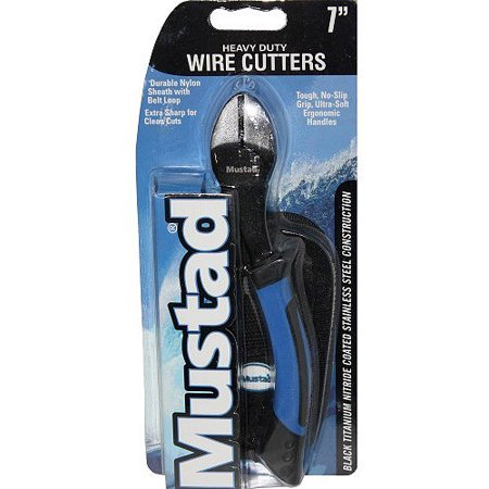 Mustad wire cutter multi colored for Fishing wire walmart