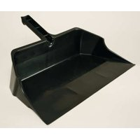 RUBBERMAID FG9B6000BLA Hand Held Dust Pan, 21-3 4 In. W, Black by Dust Pans