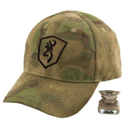 Browning Black Label Hat and Light Combo 3713270 (Green Foliage A-Tacs Camo)