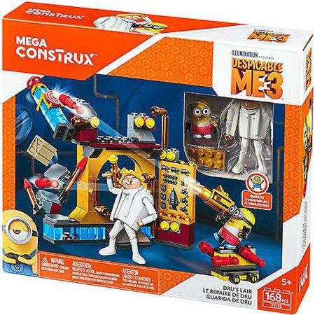 Despicable Me 3 Mega Construx Dru's Lair Set Mega Bloks (Despicable Me Toys)