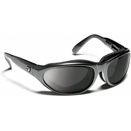 7 Eye Bali Sunglasses - 7 Eye Diablo Panoptx Foam Sunglasses, Charcoal Lens, SharpView Gray Lens