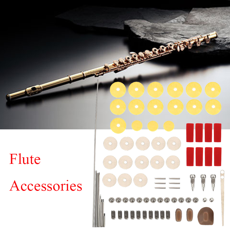 Yosoo Practical DIY Repair Maintenance Kit Set Musical Instrument Parts Accessories for Flute, Flute Accessory, Flute Repair Screws