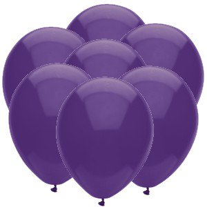 Purple 11 inch Latex Balloons (25 count)