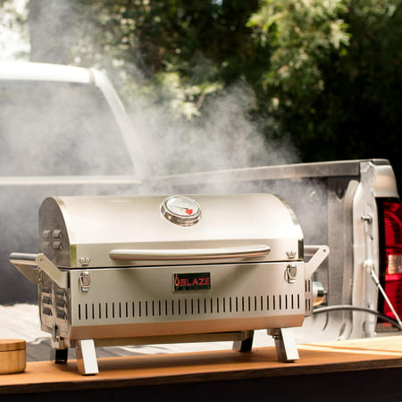 Blaze Professional Portable Propane Gas Grill Chef Portable Propane Gas Grill