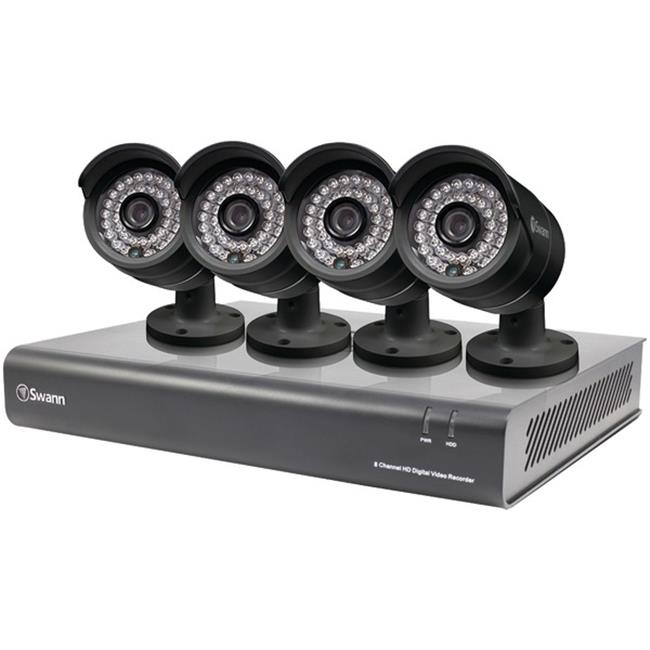 Swann SWDVK-844004-US 8-Channel 720p DVR with 4 720p PRO-A850 Cameras