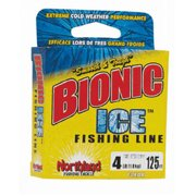 Northland Fishing Tackle Bionic Ice Fishing Line, 125 yd
