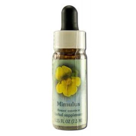 Mimulus Dropper Flower Essence Services 0.25 oz Liquid ()