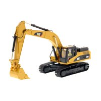 """CAT Caterpillar 330D L Hydraulic Excavator with Operator """"Core Classics Series"""" 1/50 Diecast Model by Diecast Masters"""