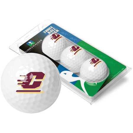 LinksWalker Central Michigan Chippewas Golf Balls, 9
