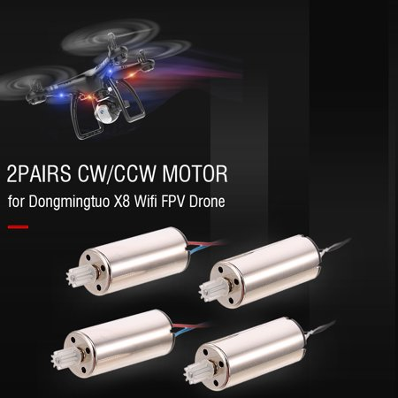2Pairs CW/CCW Motor for Dongmingtuo X8 Wifi FPV Drone Quadcopter - image 4 of 4