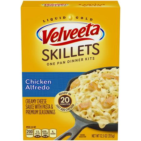 Velveeta Skillets Chicken Alfredo One Pan Dinner Kit 12.5 oz. Box