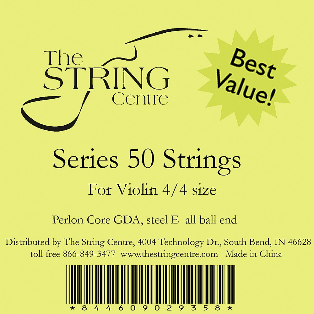 The String Centre Series 50 Violin string set 1/2 Size