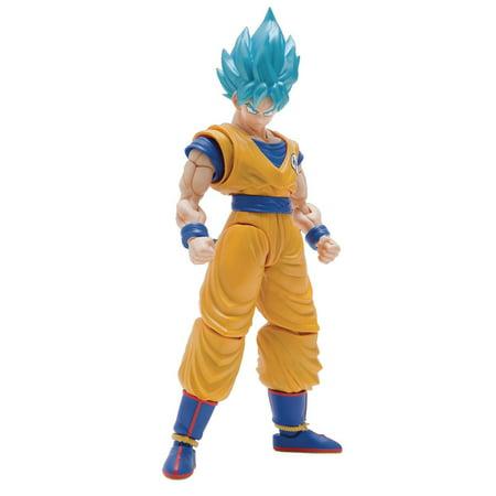Dragon Ball Figure-Rise Standard Super Saiyan Blue Son Goku Model Kit Figure [Special Color Version] - Blue Dragon Special Accessories