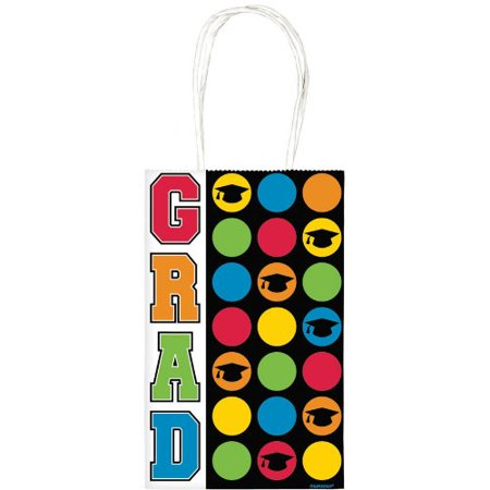 Graduation Gift Bag, Small, 1 Gift Bag per package By Amscan - Graduation Gift Bags