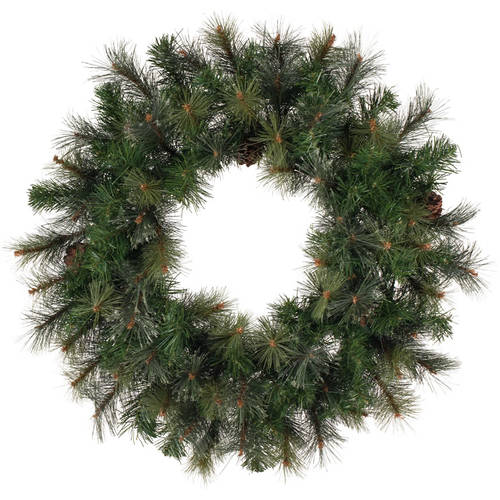 "Vickerman 30"" Modesto Mixed Pine Wreath 140T"