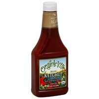 Organicville Organic Ketchup with Agave Nectar, 24 oz (Pack of 12)