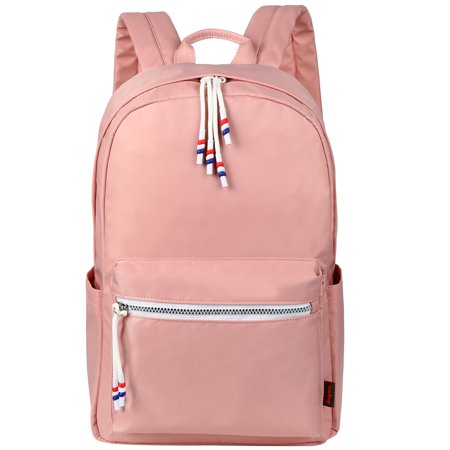 Ver School Bookbags For S Fashionable Travel Backpacks College Bags Women Daypack Bag With Two Way Zippers Pink