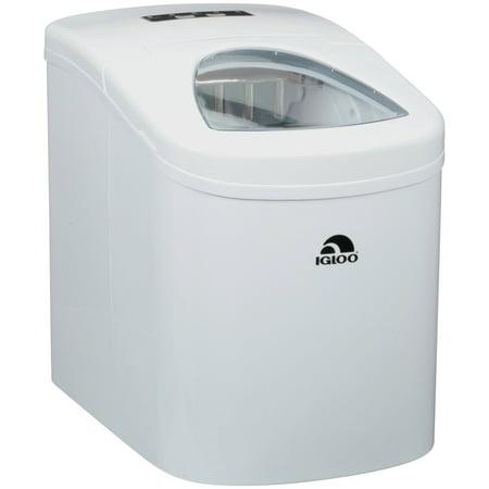 IGLOO Compact Ice Maker, White