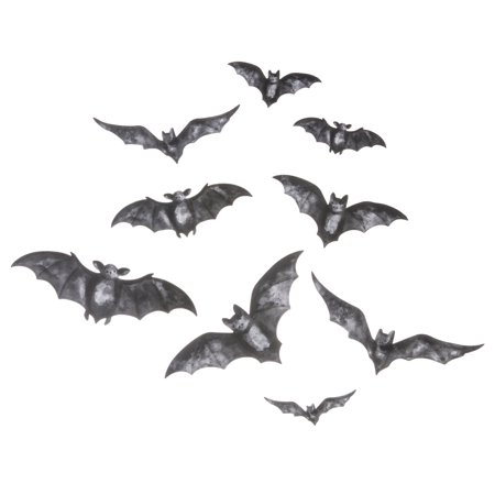Darice Martha Stewart Crafts Vinyl Bat Clings (Best Halloween Crafts Martha Stewart)