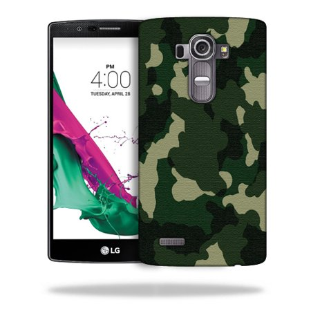 MightySkins Snap-On Protective Hard Case Cover for LG G4 Green Camo