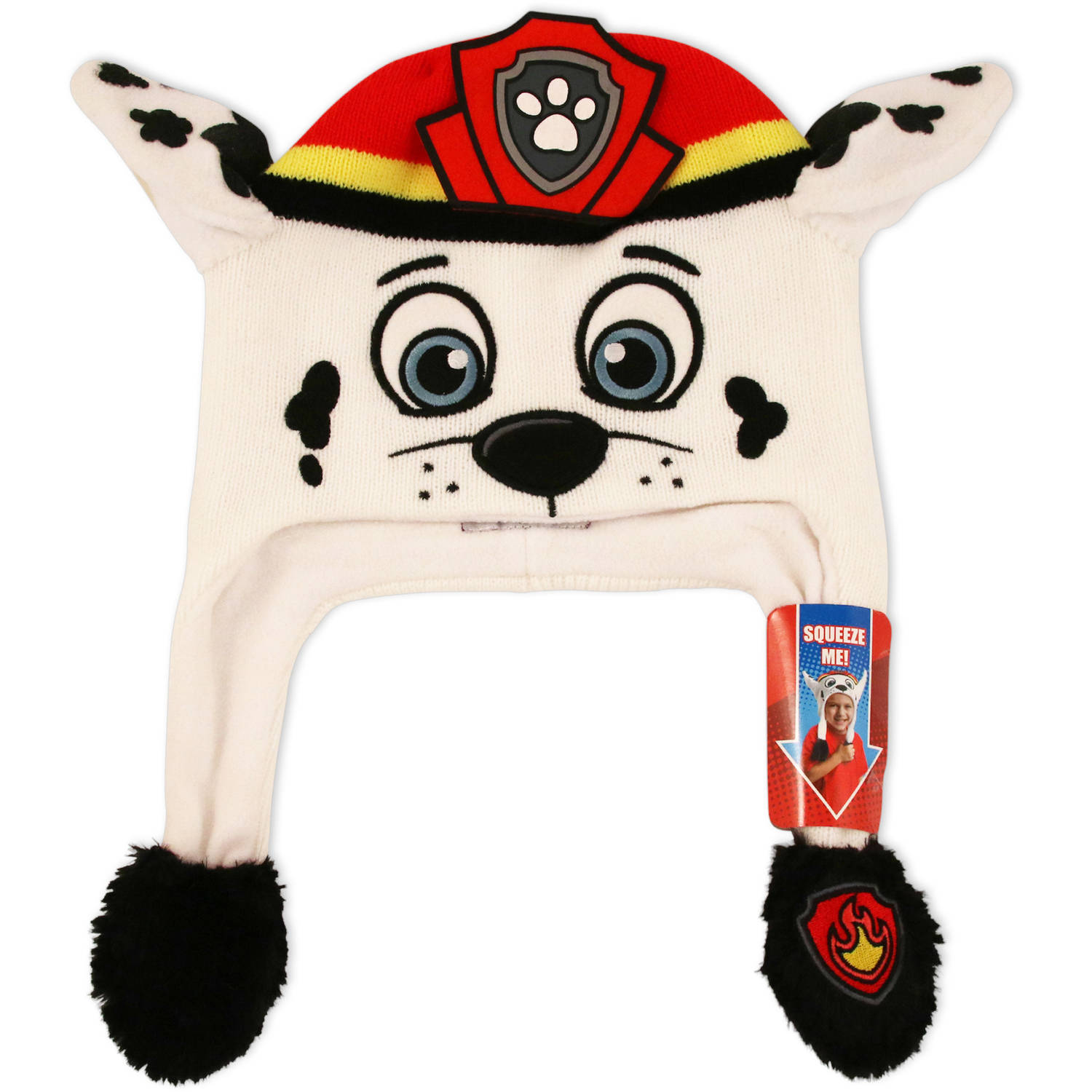 Nickelodeon Paw Patrol Marshall Flipeez action hat with movable ears.
