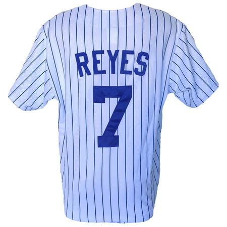 Jose Reyes New York Mets Majestic Replica White Jersey Size 2XL by
