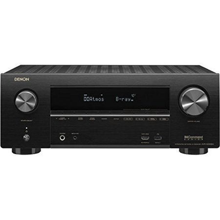 Denon AVR-X2500H 7.2 Channel 4K WiFi/Bluetooth AV Receiver with built-in HEOS technology and Alexa voice