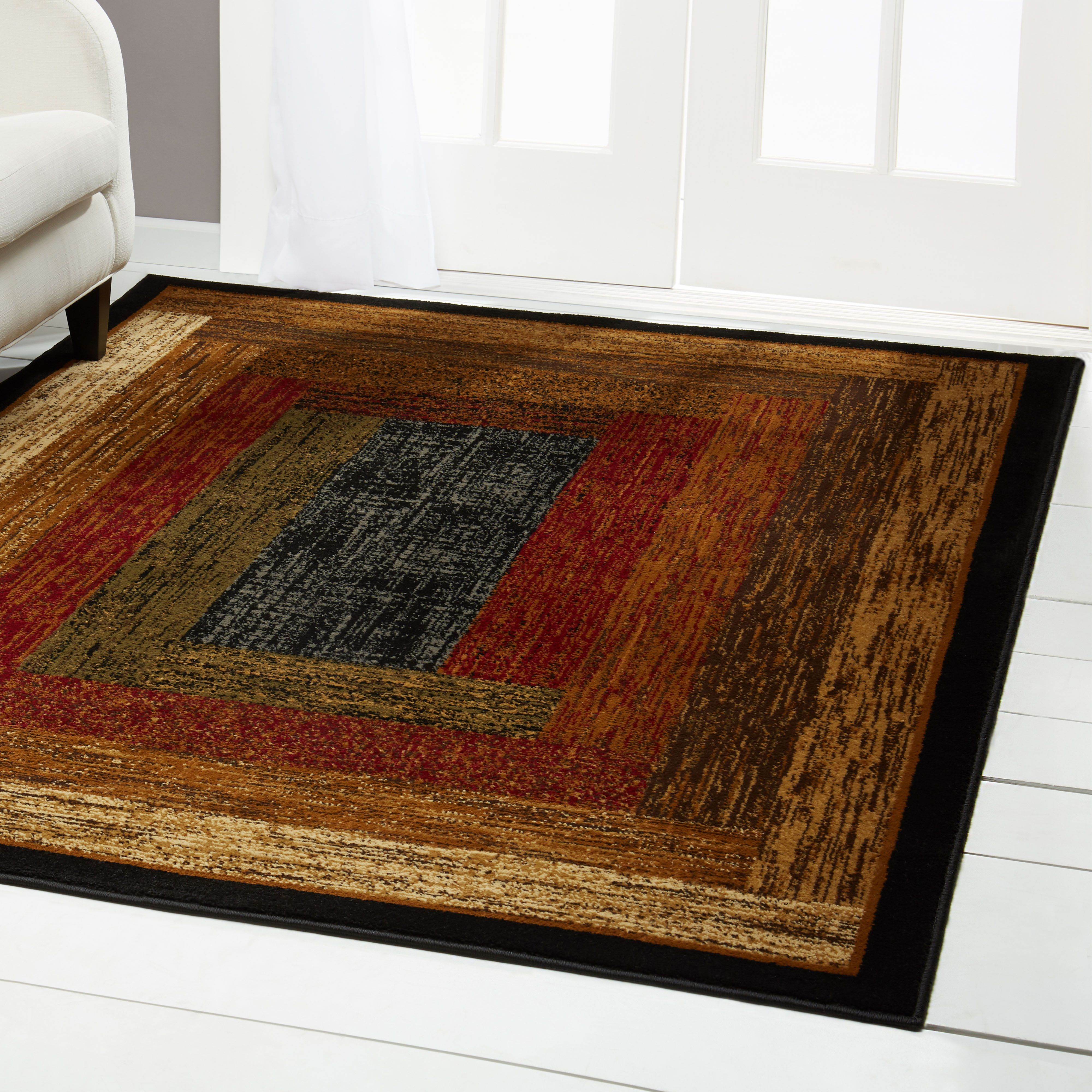Home Dynamix Royalty Collection Geometric Square Area Rug