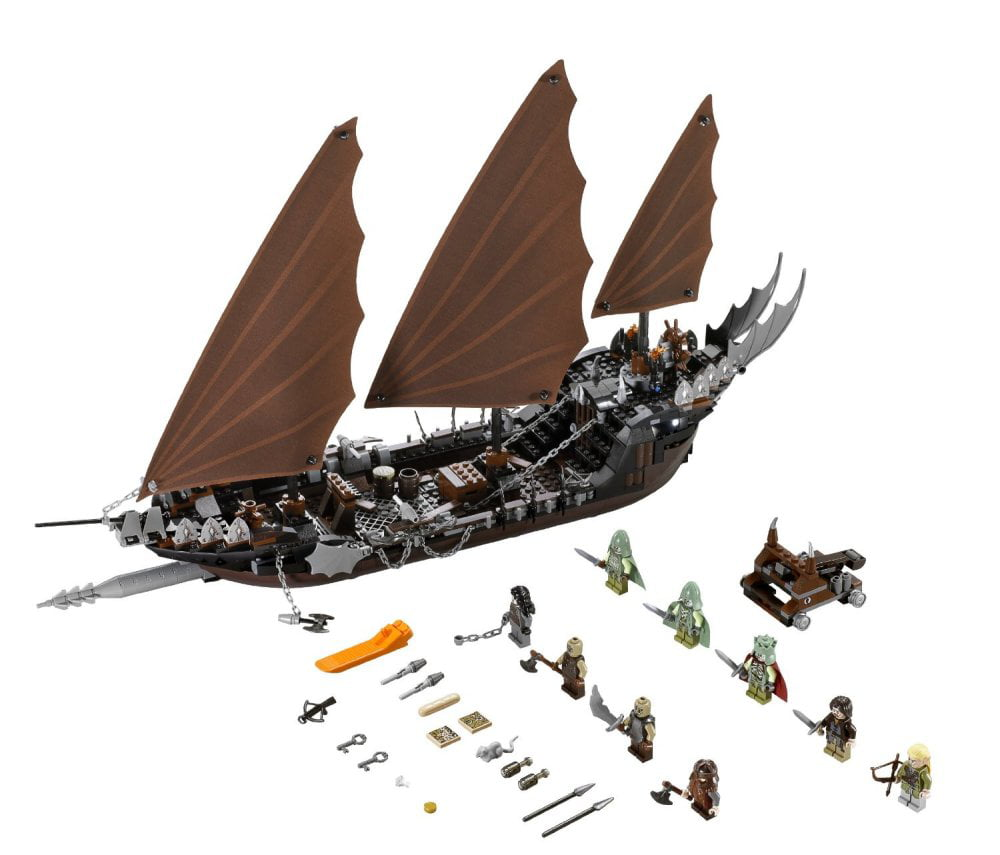 Lego Lord of the Rings LOTR Pirate Ship Ambush w  Minifigures | 79008 by Lego