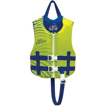 Blue Throttle - Full Throttle Children's Rapid-Dry Vest