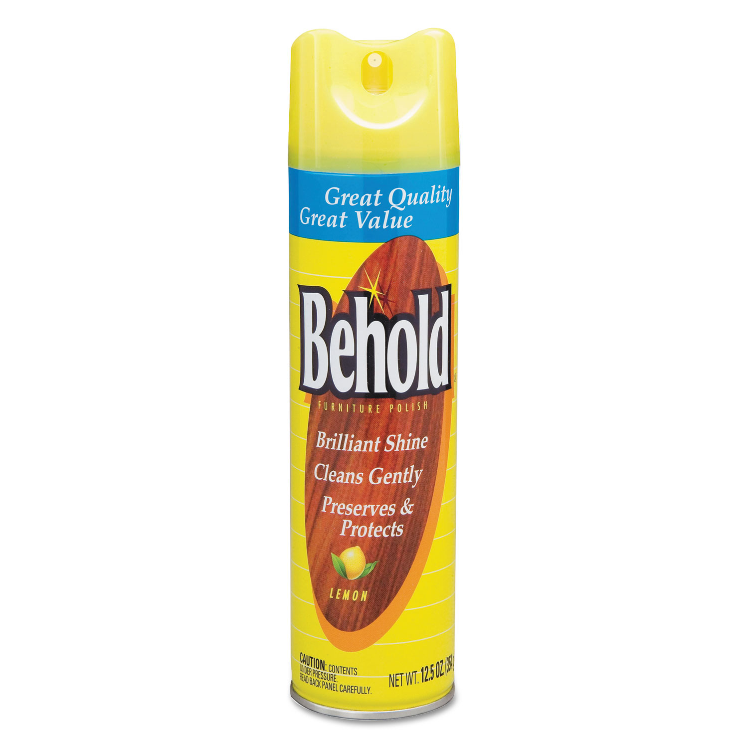 Behold Furniture Polish Lemon 6 Carton Walmart Com