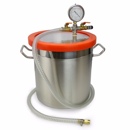 Degassing Tool (XtremepowerUS 3GAL Stage Pump Degassing Vacuum Chamber )