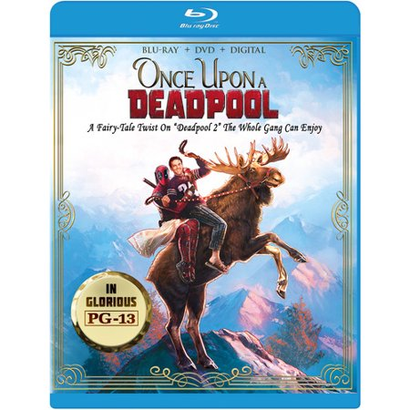 Deadpool 2 - Once Upon A Deadpool (Blu-ray + DVD + Digital (Copy Users From One Domain To Another)