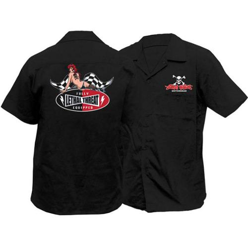 Lethal Threat LT Fully Equipped Work Shirt Black