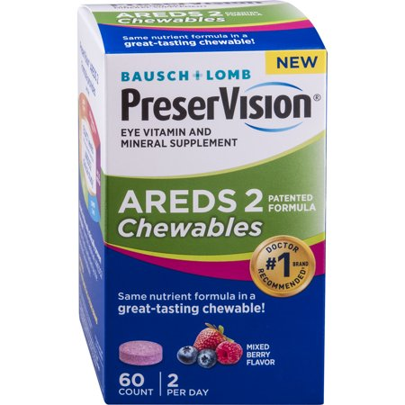 PreserVision AREDS 2 Formula Chewables, (Maxi Health Chewable)