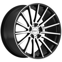 "TSW Chicane 20x8.5 5x114.3 (5x4.5"") +20mm Black/Machined Wheel Rim"
