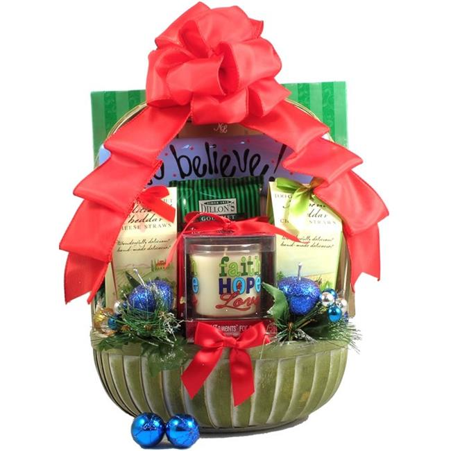 Gift Basket Drop Shipping Re Rejoice, Christmas Gift Basket
