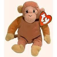 - Beanie Babies McDonalds 1998 Bongo the Monkey Teenie Beanie Plush