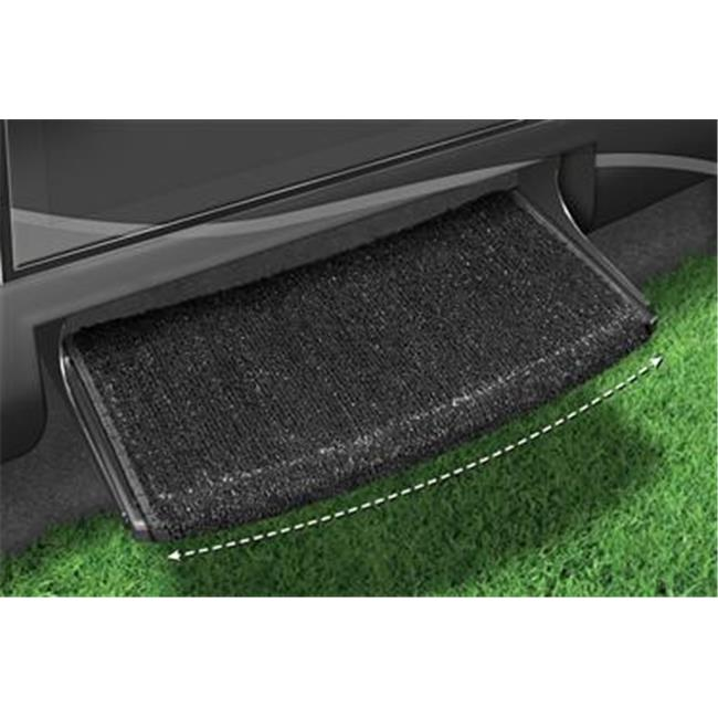 Presto Fit 20205 Wraparound Entry Step Rug - Black