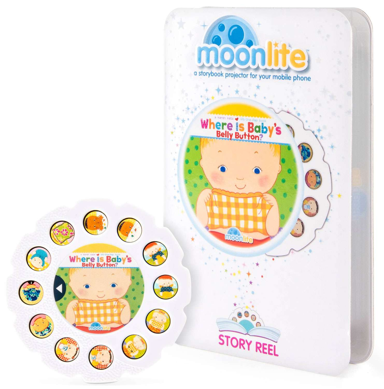 Moonlite Where is Baby's Belly Button? Story Reel