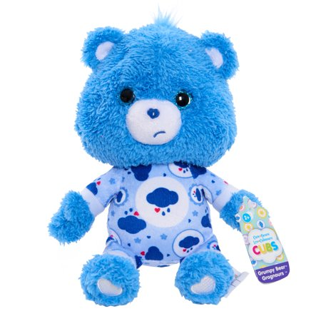 Care Bear Cubs Bean Plush - Grumpy Bear - Care Bear Champ