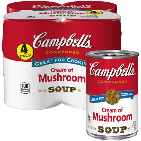 (8 Cans) Campbell's Condensed Cream of Mushroom Soup, 10.5
