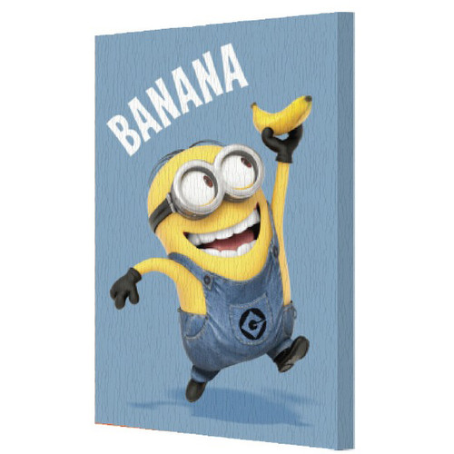 Pyramid America Minions 'Banana' Graphic Art on Canvas