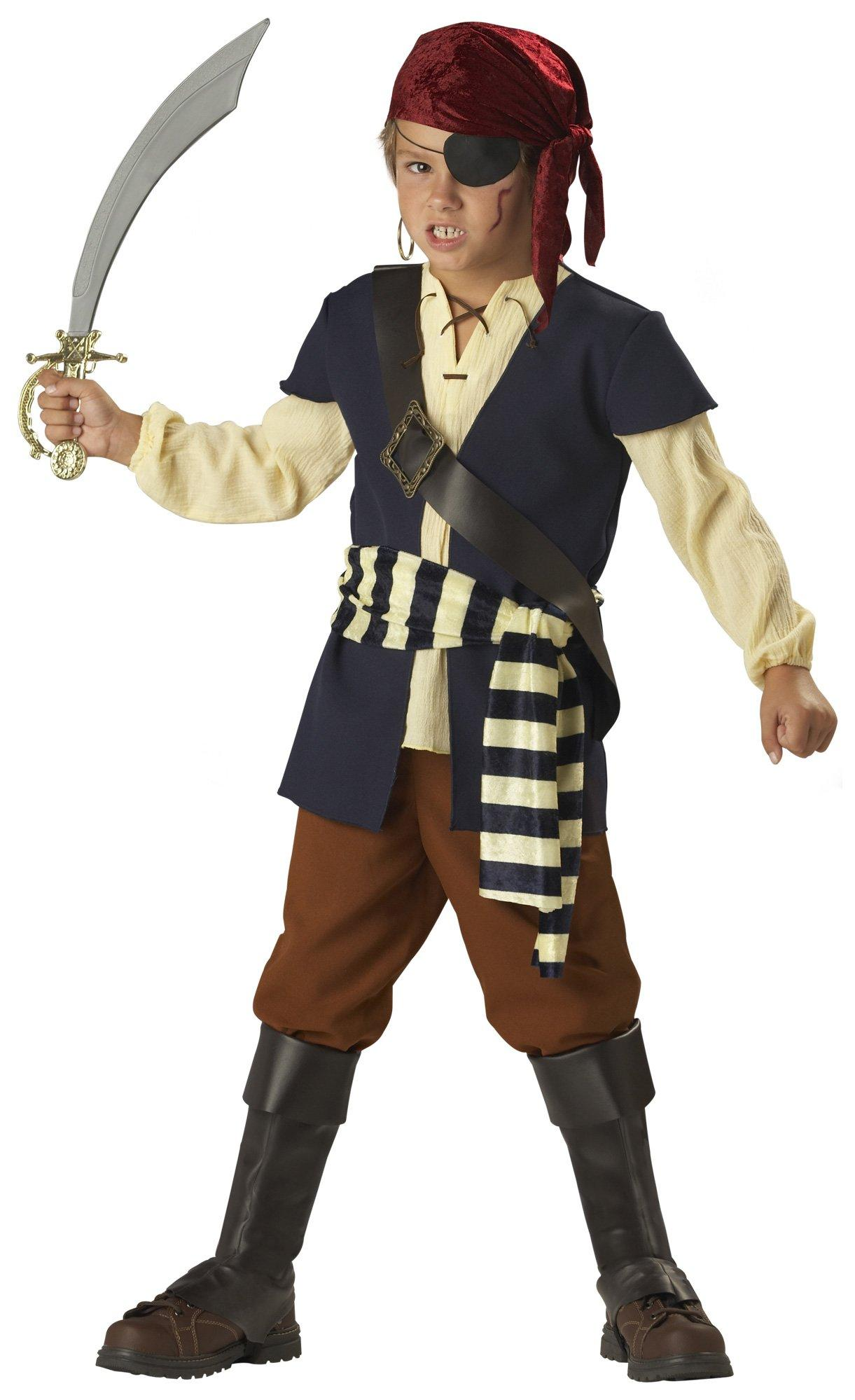 Pirate Mate Costume Small by Supplier Generic