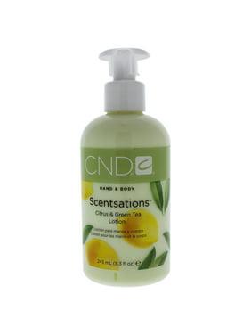 CND Hand & Body Scentsations Citrus & Green Tea Lotion, 8.3 Oz