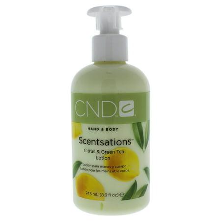 CND Hand & Body Scentsations Citrus & Green Tea Lotion, 8.3 - Lights Body