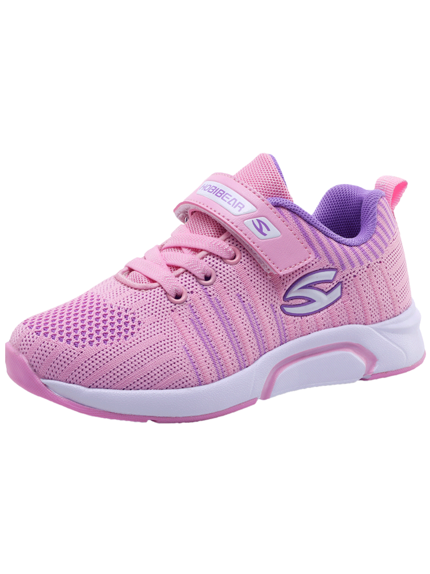 Kids Breathable Knit Sneakers Lightweight Mesh Athletic Running Shoes(Toddler/Little Kid/Big Kid)