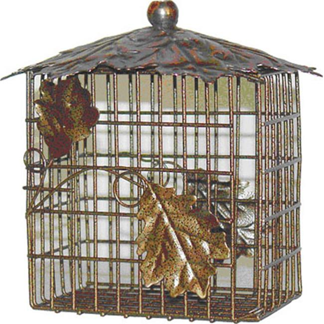 Heath Decorative Leaf Double Suet Basket