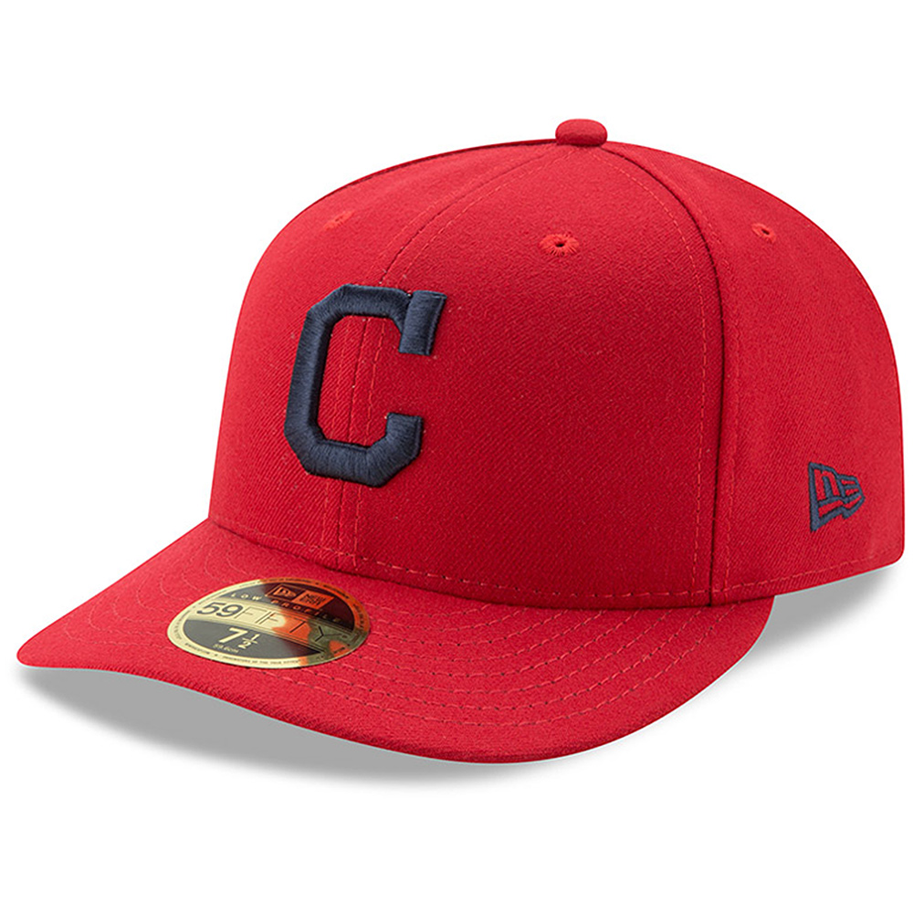 Cleveland Indians New Era Alternate Authentic Collection On-Field Low Profile 59FIFTY Fitted Hat - Red