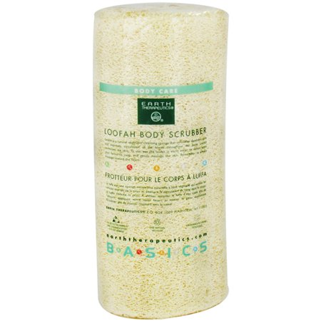 Earth Therapeutics Loofah Body Scrubber   7 Inches  3 Pack